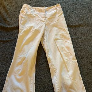 Cream colored business pants